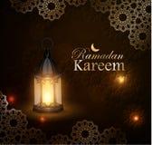 Рамазан Kareem, приветствуя предпосылку, eps 10 Стоковая Фотография RF