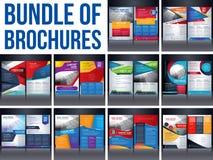 Рамазан Mubarak CalligraphyBundel брошюры памфлета рогульки иллюстрация вектора