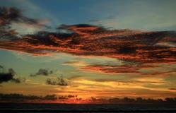 драматическое небо Стоковая Фотография RF