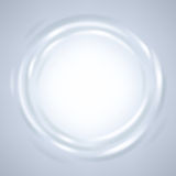 Рамка абстрактной пульсации жидкостная круглая Стоковое Изображение