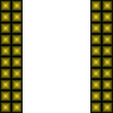Рамка абстрактных пирамид Стоковое фото RF
