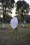 Рамка анти- светлого зонтика и в 3 ног Стоковое Изображение RF