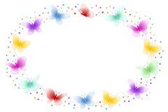 рамка бабочки Стоковые Изображения