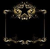 рамка богато украшенный Стоковое Изображение RF