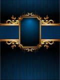 рамка богато украшенный Стоковое фото RF