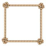 Рамка веревочки Стоковая Фотография RF