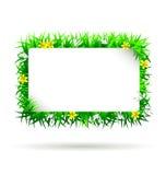 Рамка весны вектора Стоковые Фото