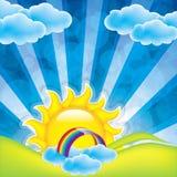 Рамка весны Стоковое Изображение RF