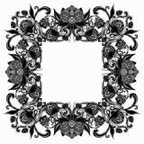 Рамка винтажной барочной эффектной демонстрации роскошная Стоковое Изображение