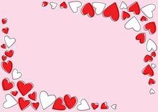 Рамка влюбленности Стоковые Изображения