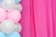 Рамка воздушных шаров Стоковые Изображения