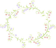 Рамка в форме круга ягод и Стоковое Изображение RF