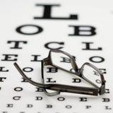 рамка глаза диаграммы стоковые фото