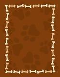 рамка граници косточек Стоковые Фотографии RF