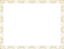 рамка граници декоративная Стоковое фото RF