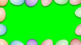 Рамка границы пасхальных яя акции видеоматериалы