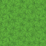 Рамка границы с листьями контура мяты иллюстрация вектора