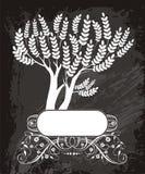 Рамка дерева Стоковое Изображение