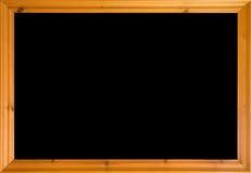 рамка деревянная стоковое изображение