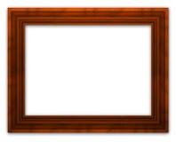 рамка деревянная Стоковая Фотография RF