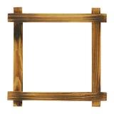 рамка деревянная Стоковые Изображения