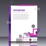 Рамка для графиков современного искусства текста для битников иллюстрация штока