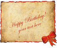 рамка дня рождения счастливая Стоковые Изображения