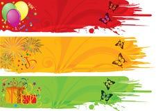 рамка дня рождения Стоковое Изображение RF
