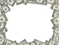 рамка доллара Стоковая Фотография RF