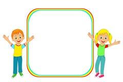 Рамка детей Стоковые Изображения