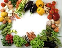 рамка еды Стоковое Изображение RF