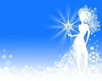 Рамка зимы Стоковая Фотография