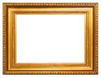 рамка золотистая стоковые фотографии rf