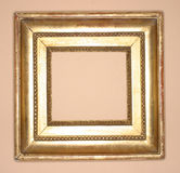 рамка золотистая стоковые фото