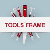 Рамка инструментов Стоковое фото RF