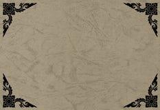 рамка искусства тайская Стоковые Фотографии RF
