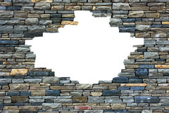 Рамка кирпичной стены. Стоковые Фотографии RF