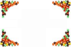 рамка конфеты стоковые изображения