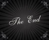 Рамка конца Стоковые Изображения RF