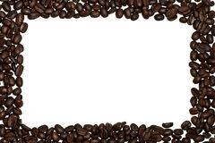рамка кофе фасолей Стоковое Фото
