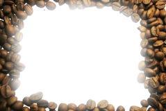рамка кофе фасолей Стоковое Изображение RF