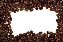 Рамка кофе Стоковая Фотография RF