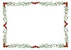 Рамка красных роз квадратная бесплатная иллюстрация