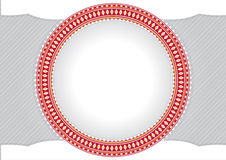 Рамка круга для текста или фото Стоковые Фотографии RF