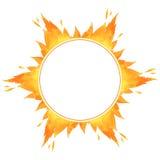 Рамка круга огня бесплатная иллюстрация