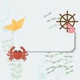 Рамка моря Стоковые Фотографии RF
