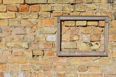 Рамка на стене Стоковые Изображения RF