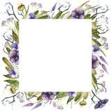 Рамка осени акварели бесплатная иллюстрация