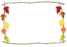 рамка осени стоковое изображение
