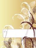 рамка осени Стоковая Фотография RF